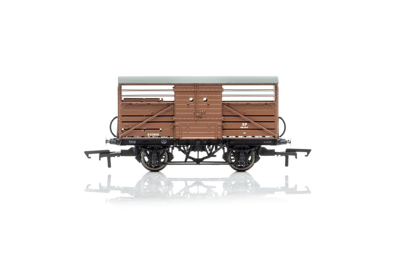 Dia.1529 Cattle Wagon, British Railways - Era 4