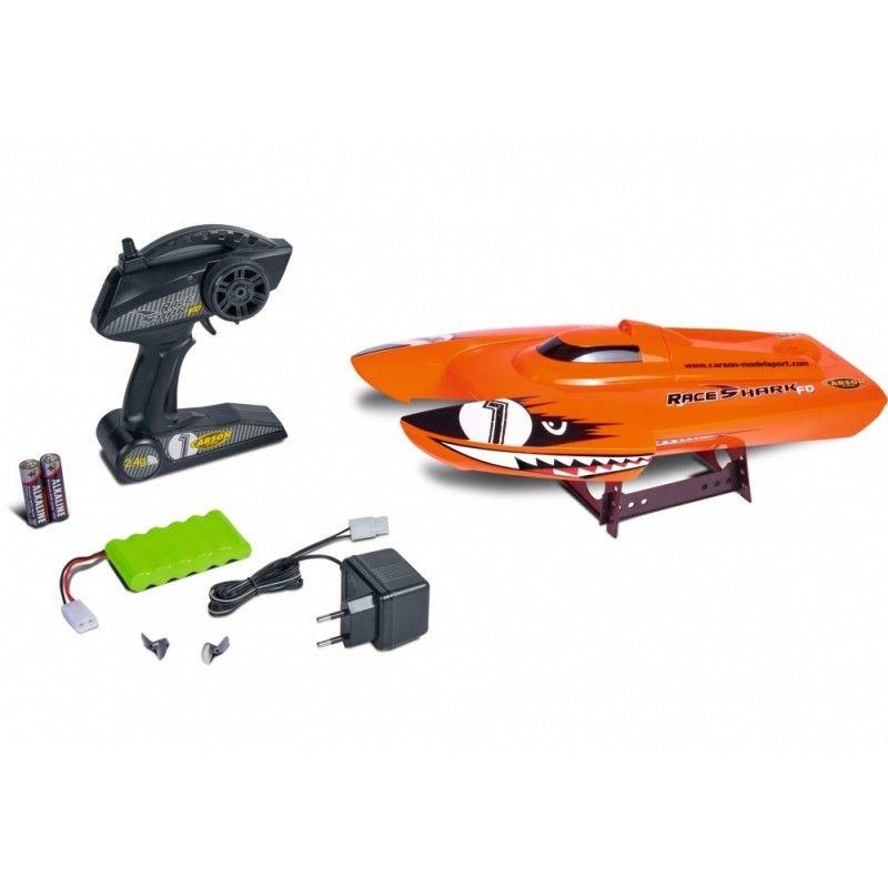 CARSON Race Shark 2.4Ghz RTR R/C Boat