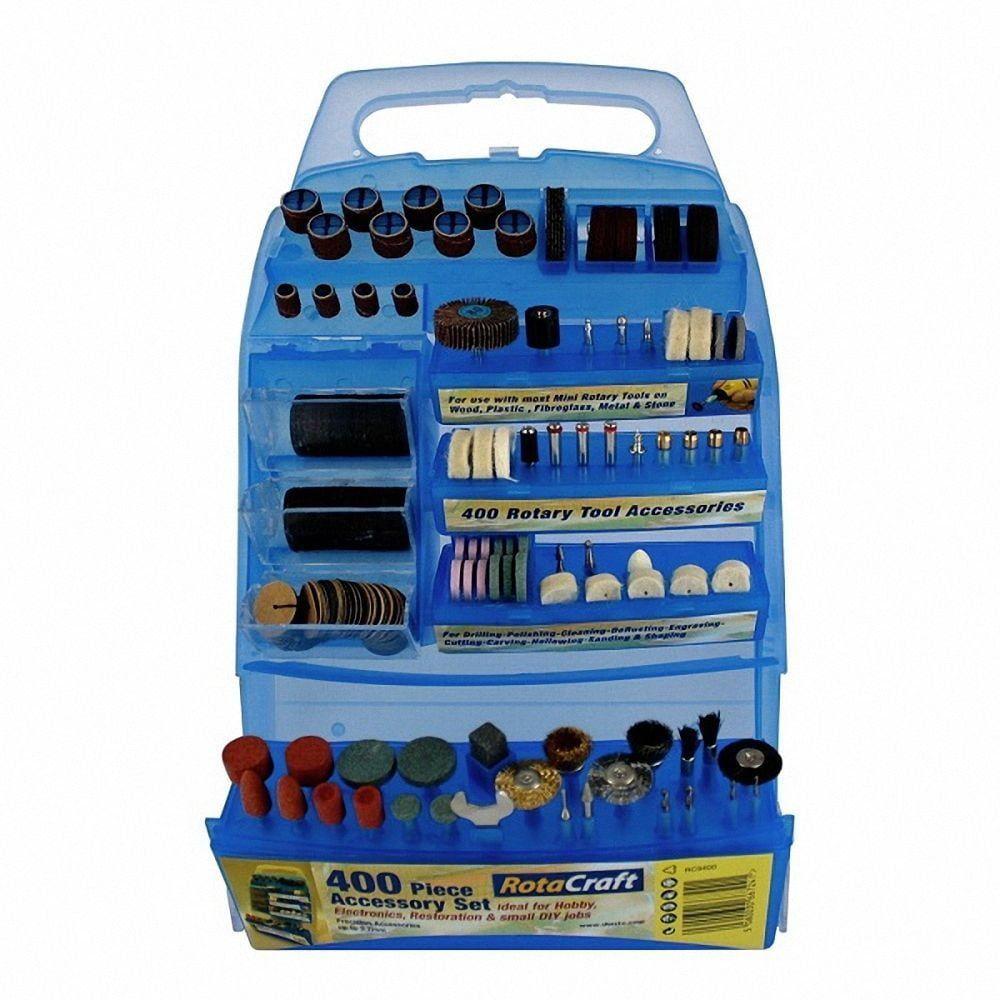 Rotacraft 400 Piece Accessory Kit