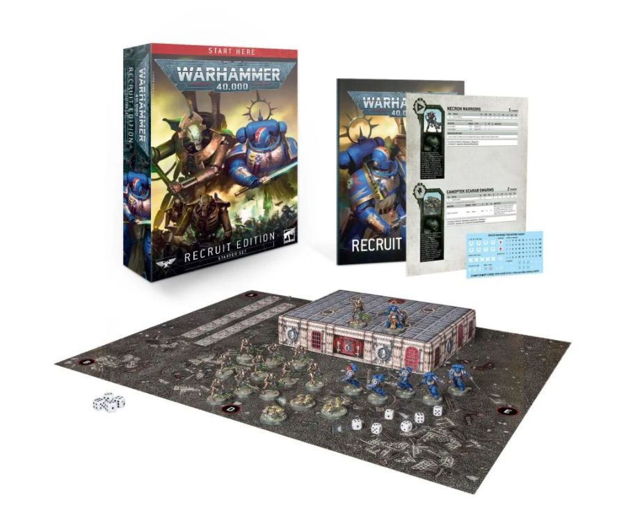 Warhammer 40000 Recruit Edition Starter Pack