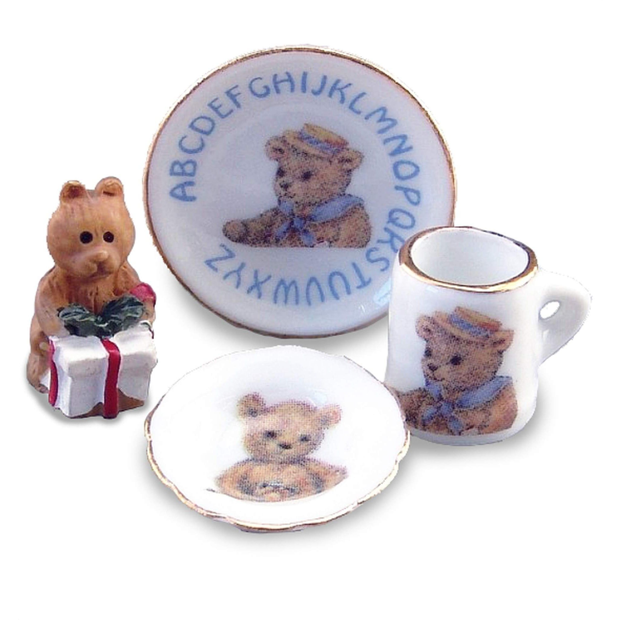 Reutter Porcelain ABC Breakfast Set