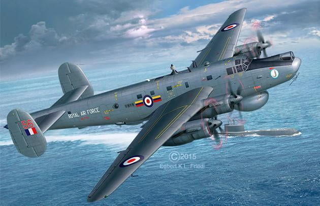 Revell Avro Shackleton AEW.2 1:72nd Scale Plastic Model Kit