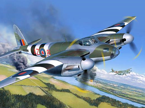 Revell De Havilland Mosquito MK.IV 1:32 Scale Plastic Model Plane Kit