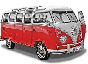 Revell VW Volkswagen T1 Samba Bus Plastic Model Kit