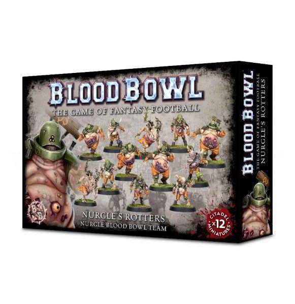 Warhammer Nurgle Rotters - Nurgle Blood Bowl Team