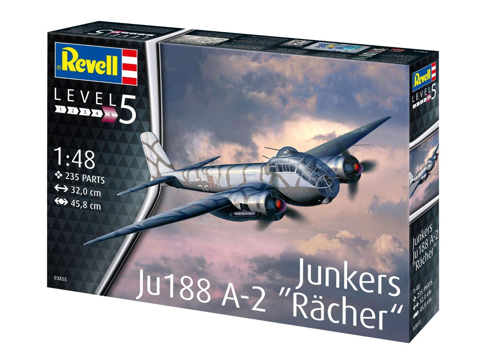"Revell 1/48 Scale Junkers Ju188 A-1 ""Rächer"""