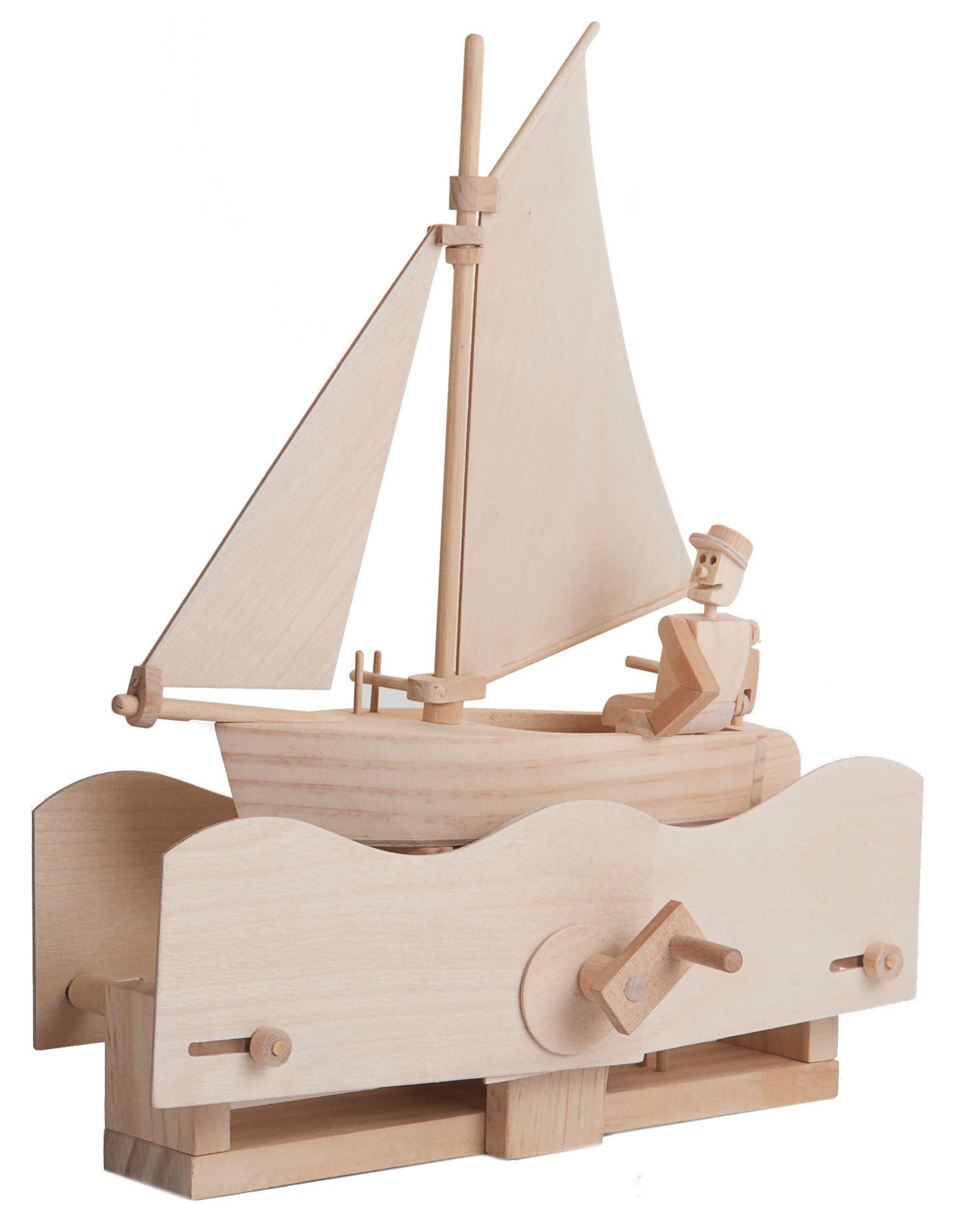 Timberkits Salty Sailor Wooden Model Kit