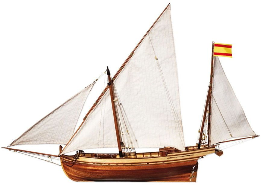 OcCre Felucca San Juan Sail Boat 1:70 Scale Detailed Model Kit
