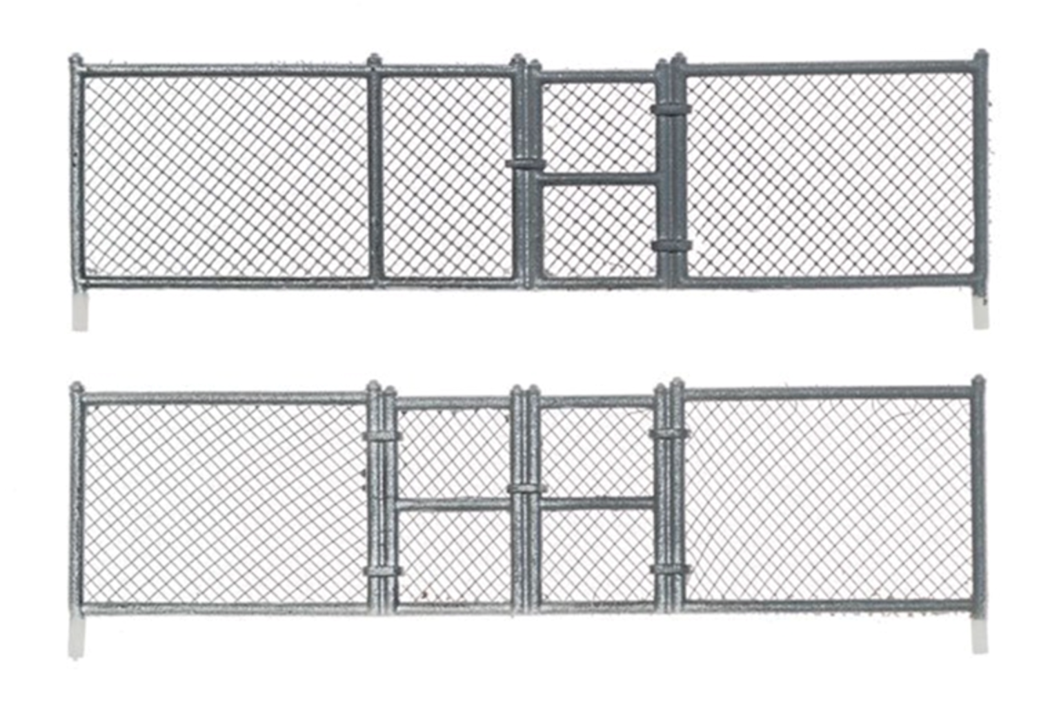 N Scale Chain Link Fence