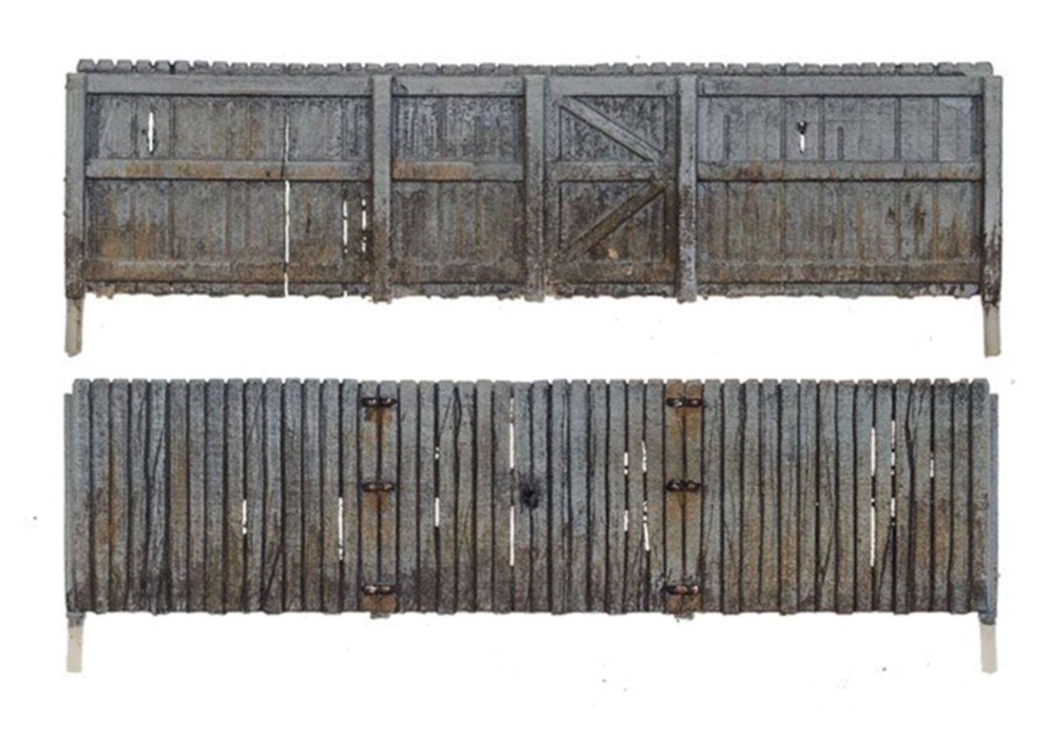 N Scale Privacy Fence