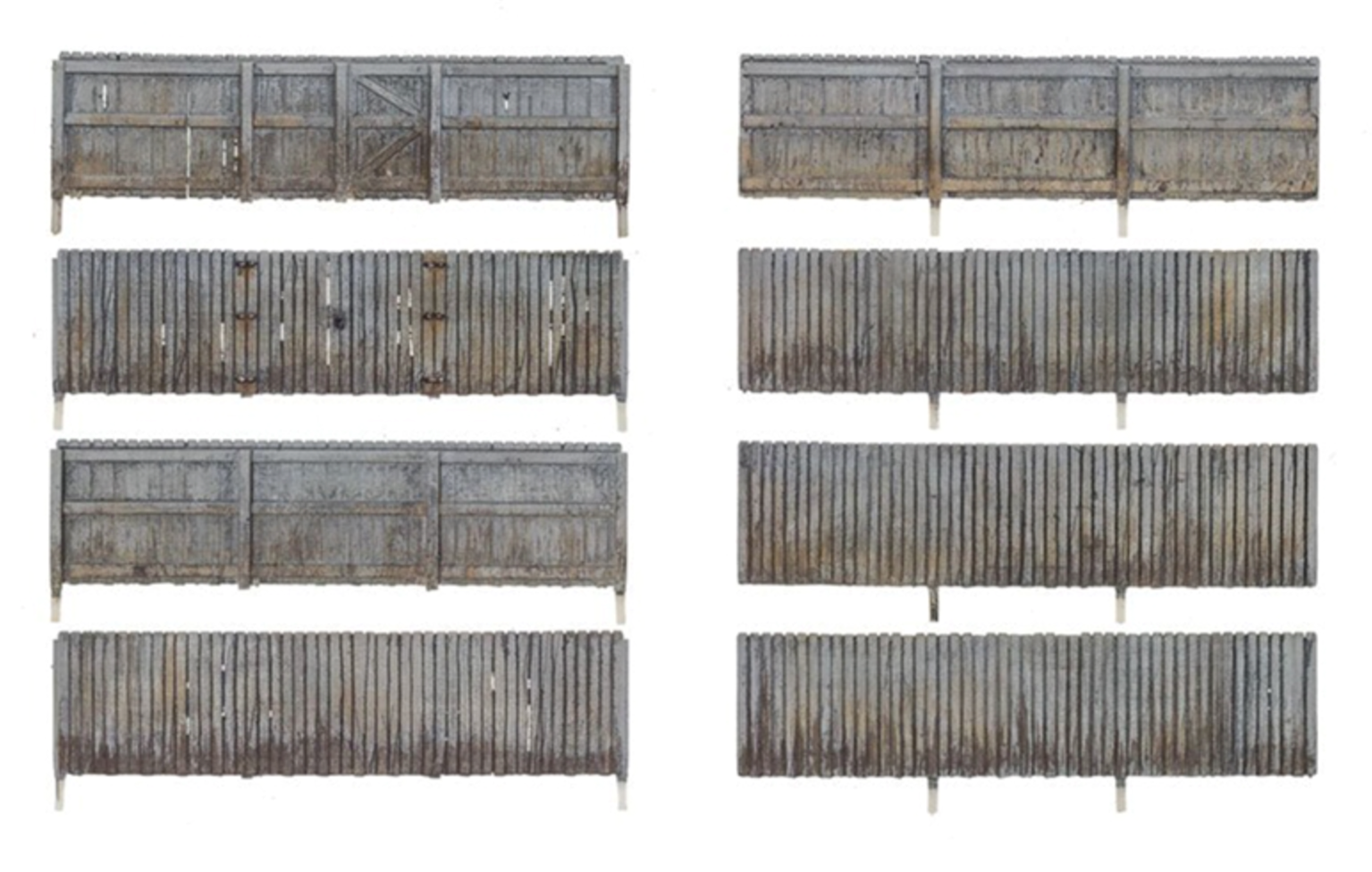 HO Scale Privacy Fence
