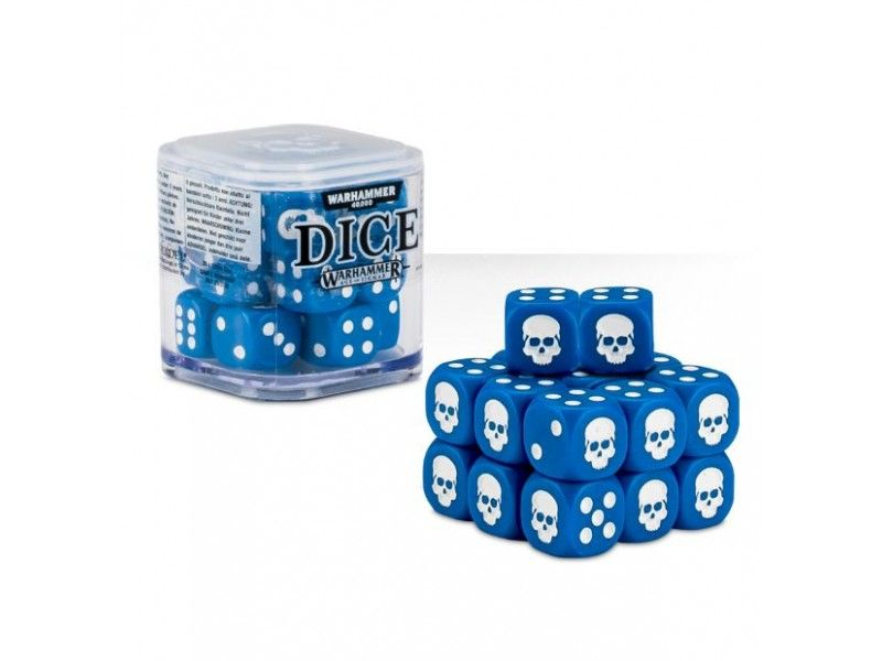 Warhammer Dice Cube - Blue