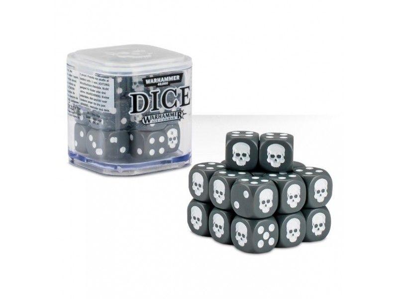 Warhammer Dice Cube - Grey