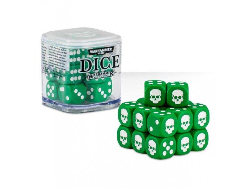 Warhammer Dice Cube - Green