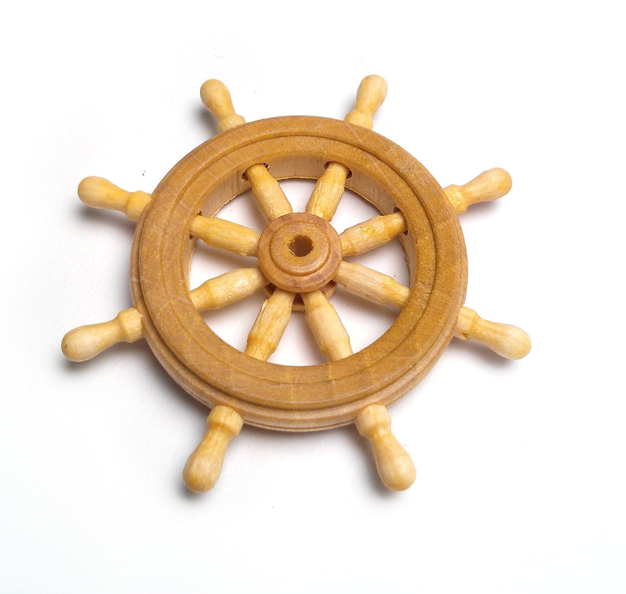 Mantua Models Ships Wheel - 38mm Ships Wheel