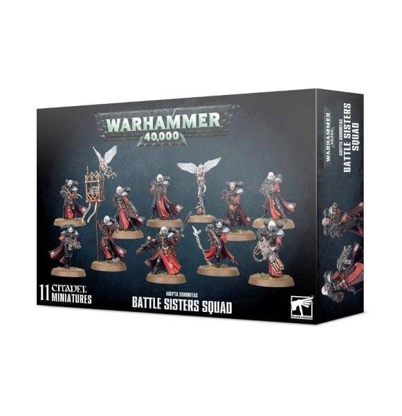 Warhammer Adepta Soroitas: Battle Sisters Squad