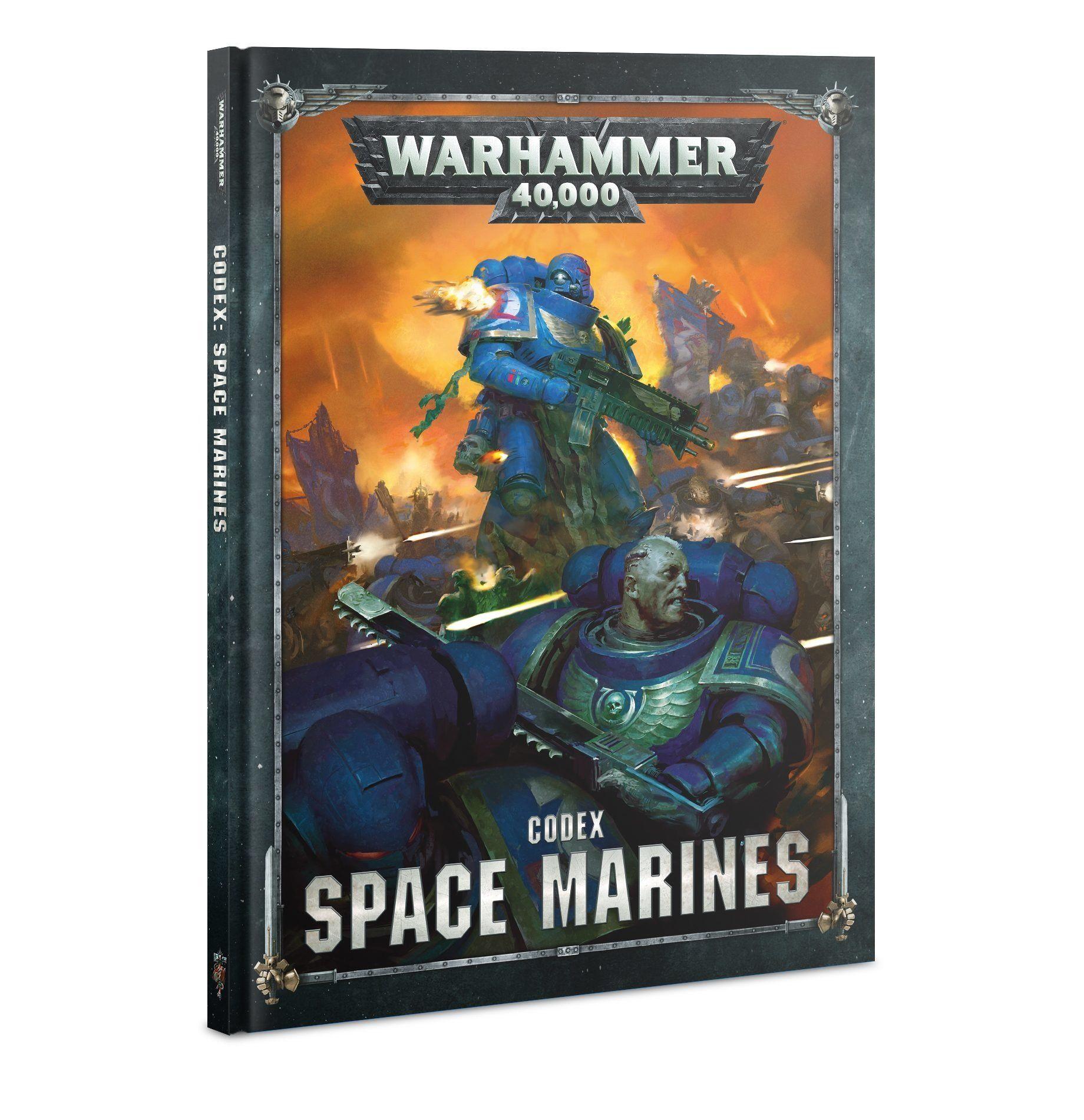 Warhammer Codex Space Marines Hardback