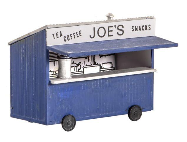 Peco Tea Kiosk with printed Name & Interior Detail
