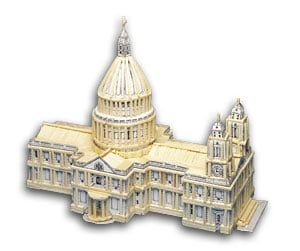 Match Craft St Paul's Cathedral Matchstick Kit