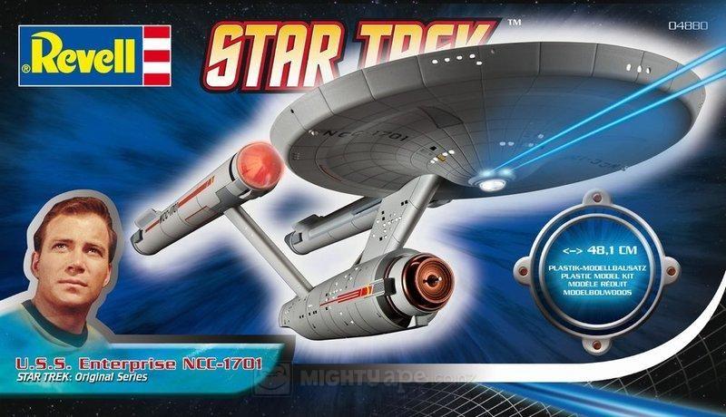 Revell Star Trek USS Enterprise NCC-1701 Plastic Model Kit