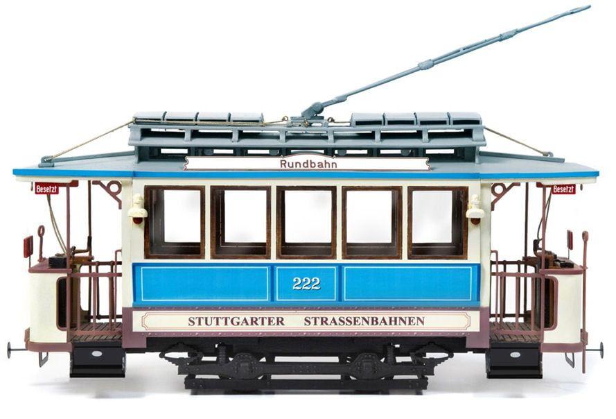 Occre Stuttgart 222 German Tram 1:24 Scale Wood and Metal Model Kit