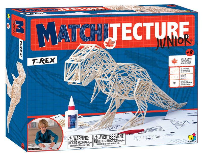 Matchitecture T-Rex Junior Matchstick Model Kit