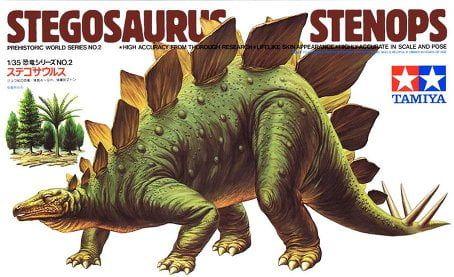 Tamiya 60202 – 1:35 Stegosaurus Stenops Model Kit