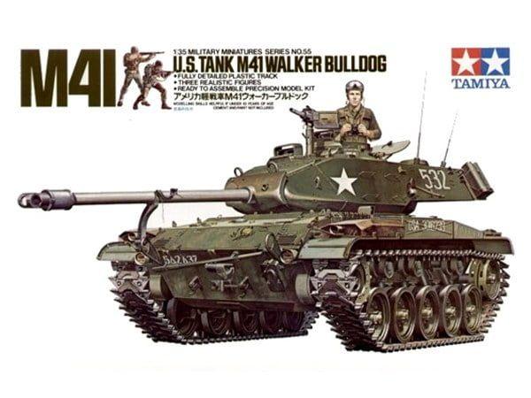 Tamiya US Tank M41 Walker Bulldog 1:35 Scale Model Tank Kit