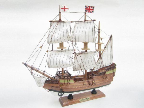 Mayflower Starter Boat Kit - Build Your Own Wooden Model Ship