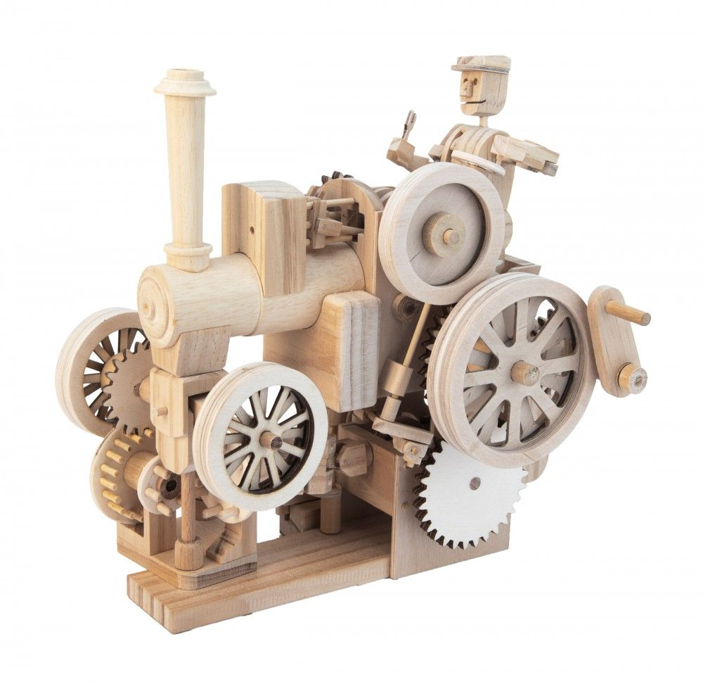 Timberkits Traction Engine