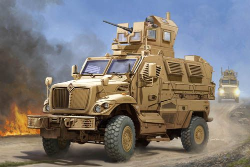 Trumpeter 1/16 US MaxxPro MRAP Plastic Model Kit