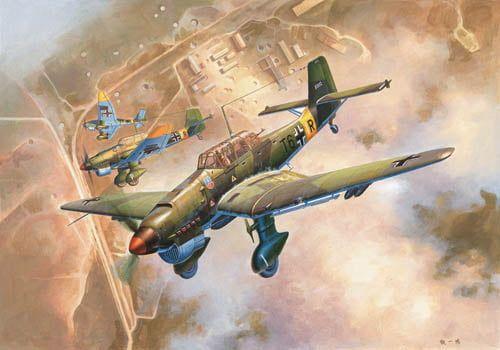 Trumpeter Junkers Ju 87B-2 Stuka
