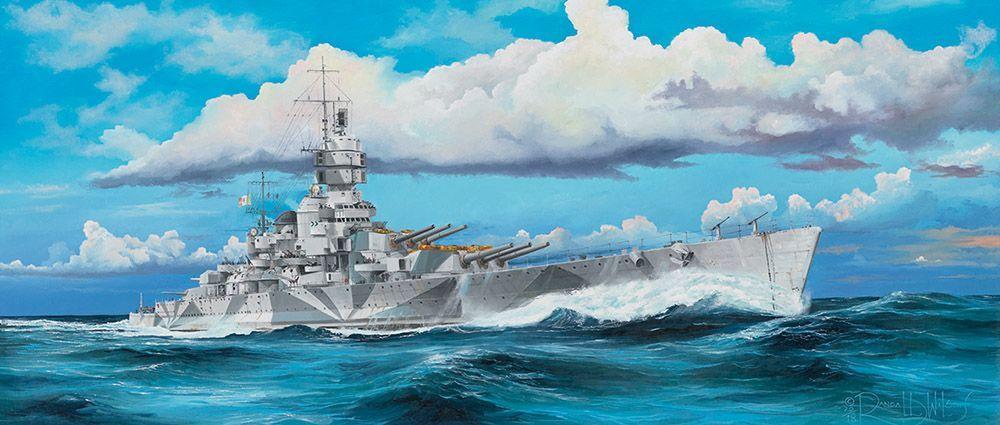 Trumpeter 1/350 RN Vittorio Veneto Italian Navy Battleship 1940 Plastic Model Kit