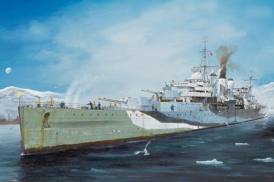 Trumpeter HMS Kent Frigate 1/350th Scale Model Kit