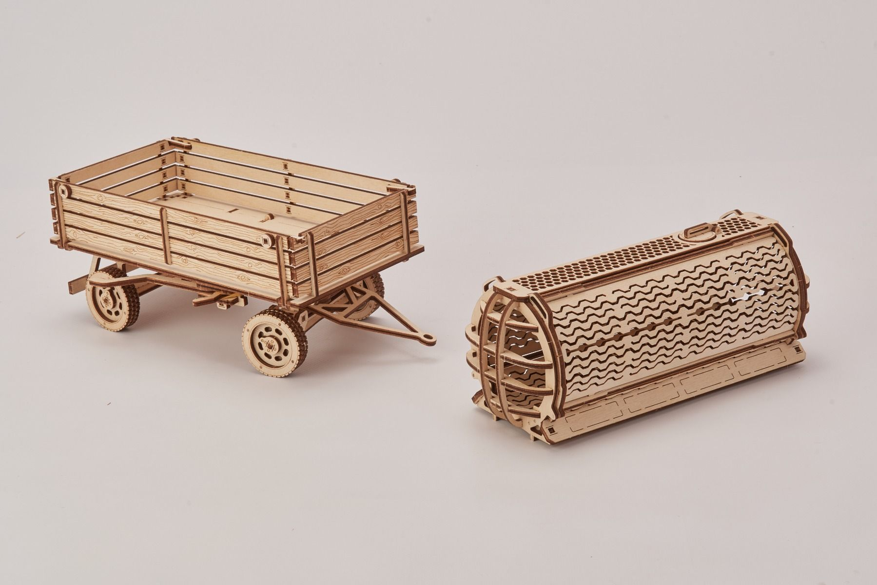 Wood Trick Tractor - Trailer for Tractor