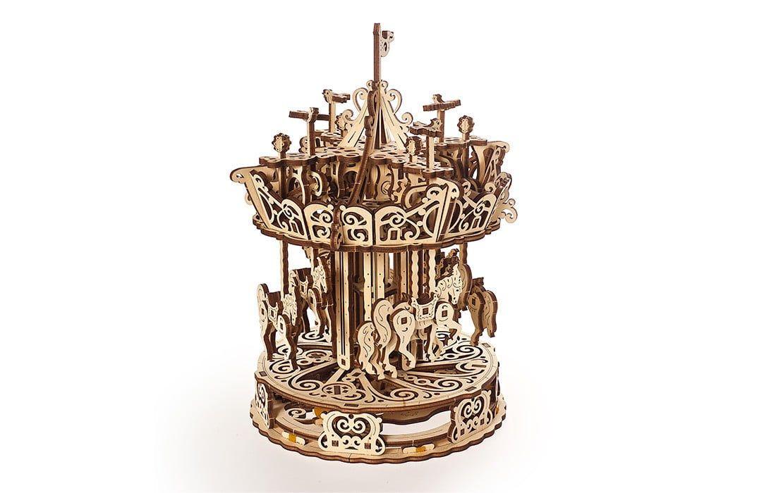 UGears Carousel Wooden Kit
