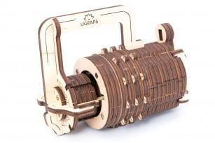 UGears Combination Lock Wooden Kit