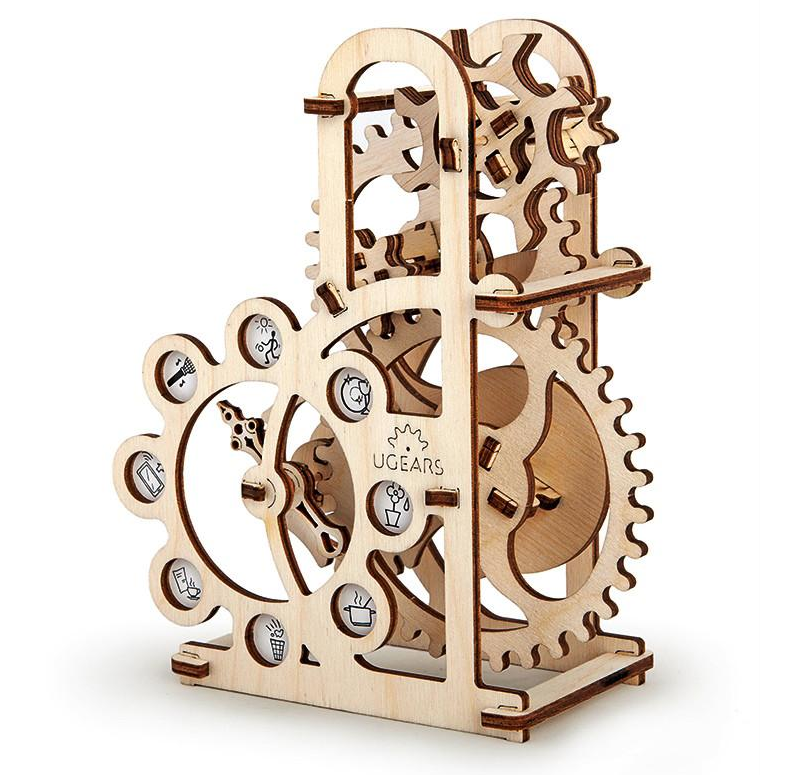 UGears Geneva Drive Dynamometer Wooden Kit