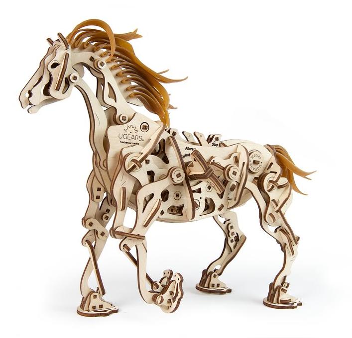 UGears Horse Mechanoid Wooden Kit