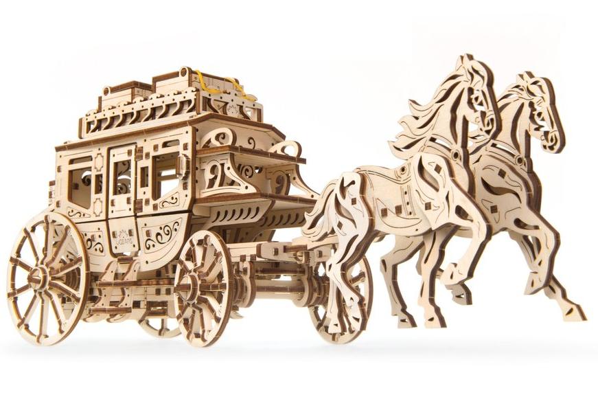 UGears Stagecoach