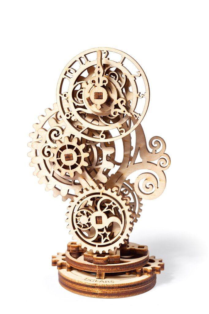 UGears Steampunk Clock Wooden Kit
