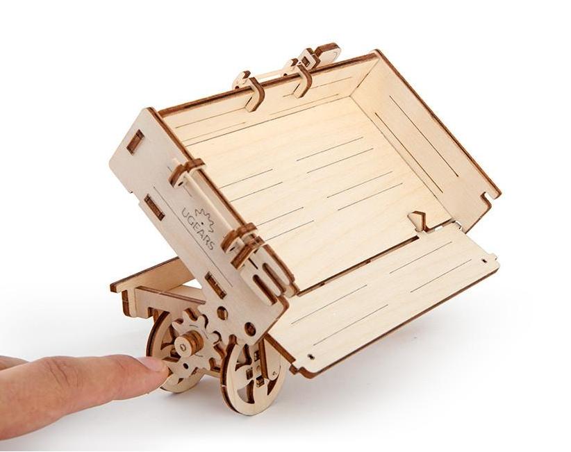 UGears Trailer Wooden Kit