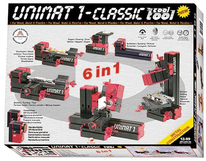 Unimat 1 Classic 6 in 1 Tool 83000 Power Tool
