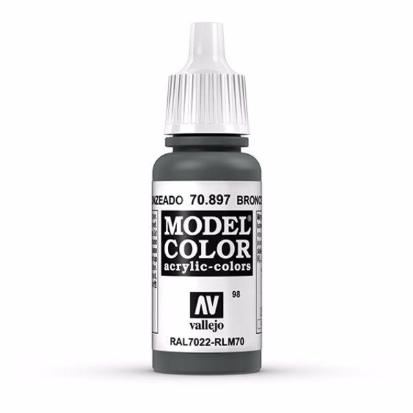 Vallejo Model Color 17ml  Bronze Green