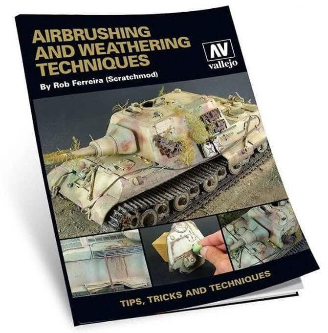 Vallejo Airbrush and Weathering Techniques Book 204 Pages