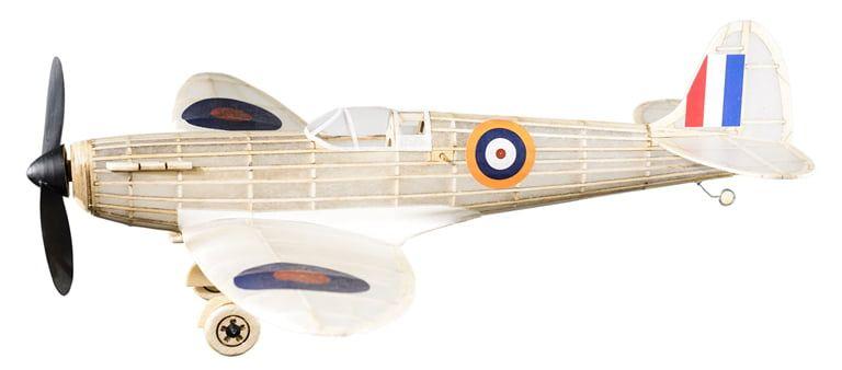 The Vintage Model Co. Supermarine Spitfire Mk.VB Balsa Plane Kit