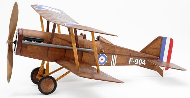 The Vintage Model Co. SE5A Bi-Plane Balsa Plane Kit