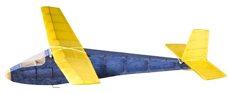 The Vintage Model Co. Osprey Sports Glider Balsa Plane Kit
