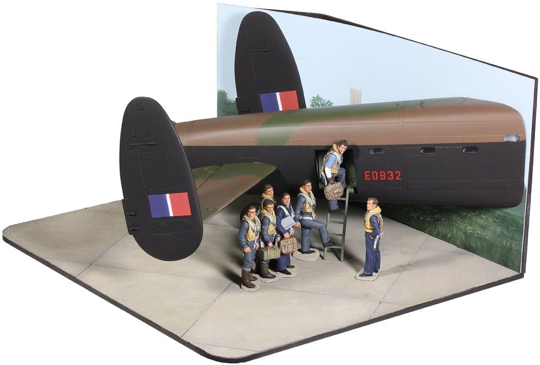 W Britain - RAF 617 Squadron The Dambusters 70th Anniversary Commemorative Set 1943