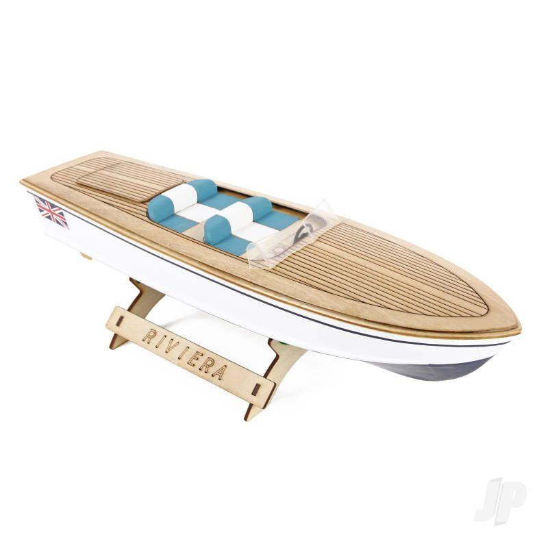 Riviera Wooden Motor Boat Kit 400mm